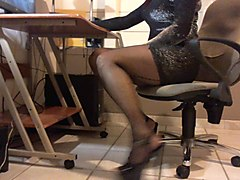 Panties, Pantyhose, Extreme cuckold humiliation by lesbian black mistress, Xhamster