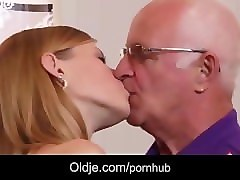 Grandpa, College, James deen college group bathroom, Pornhub